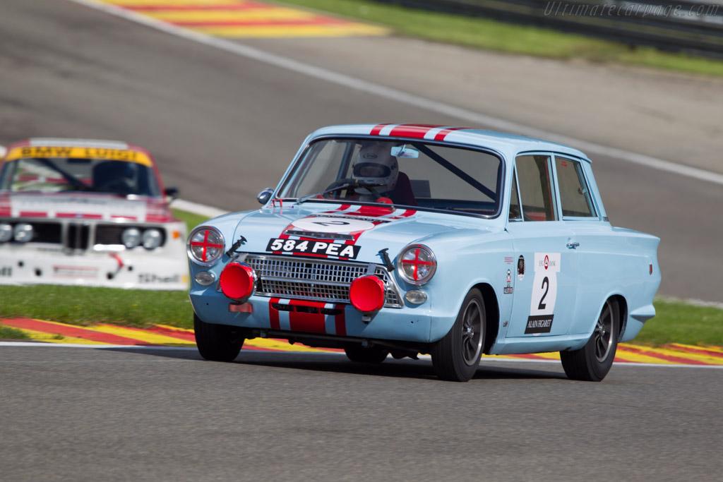 Lotus Cortina    - 2013 Spa Classic