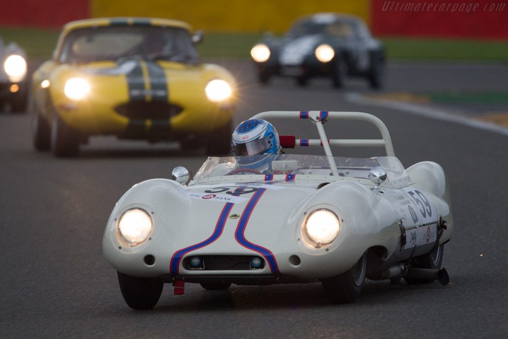 Lotus Eleven S1 Le Mans - Chassis: 248 - Driver: Franco Meiners  - 2013 Spa Classic
