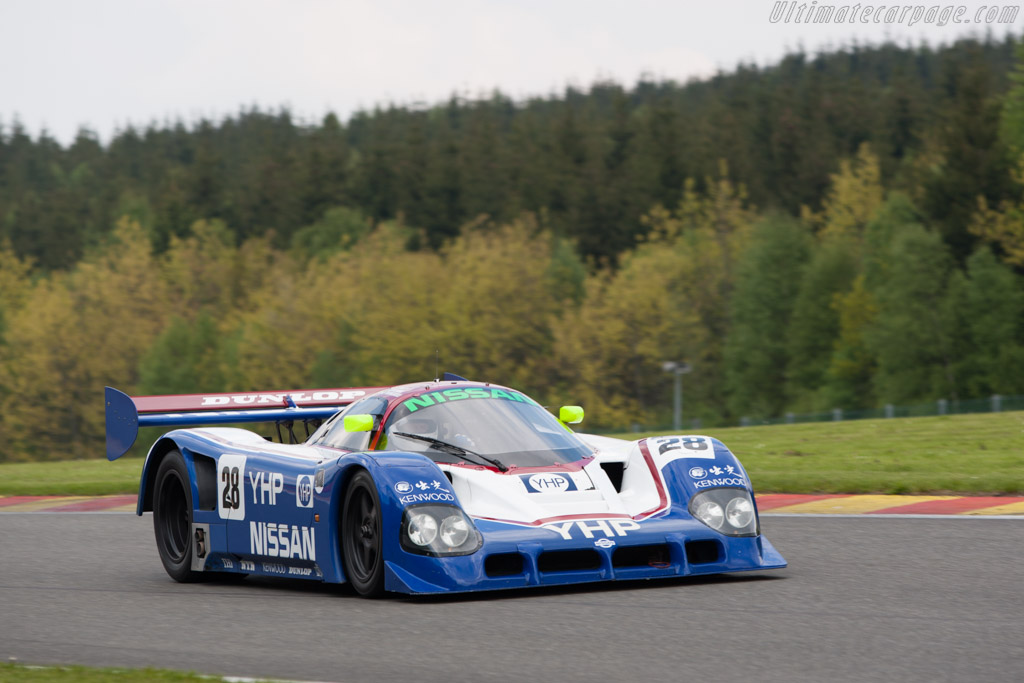 Nissan R90CK - Chassis: R90C/1 - Driver: Kent Abrahamson  - 2013 Spa Classic