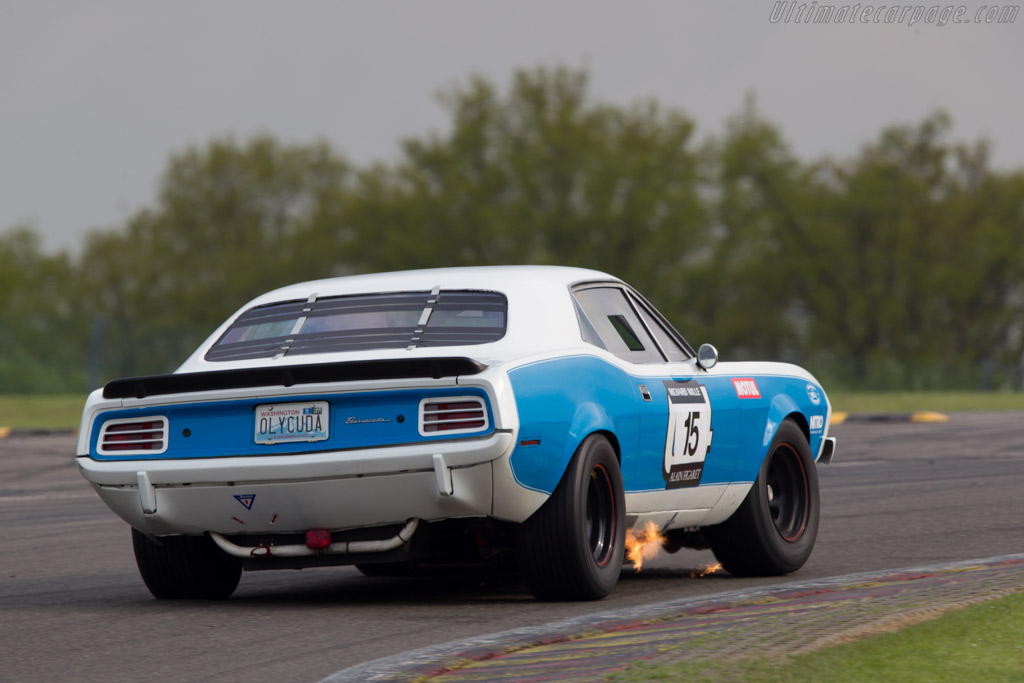 Plymouth Hemi Cuda    - 2013 Spa Classic