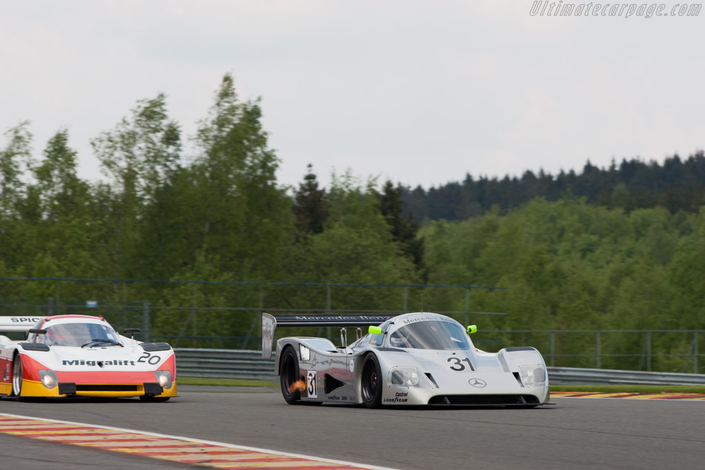 Sauber-Mercedes C11 - Chassis: 89.C11.00   - 2013 Spa Classic