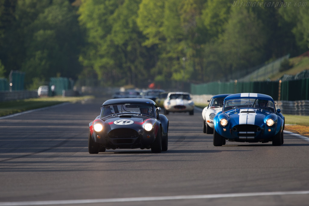 AC Shelby Cobra - Chassis: CSX2049 - Driver: David Hart - 2014 Spa Classic