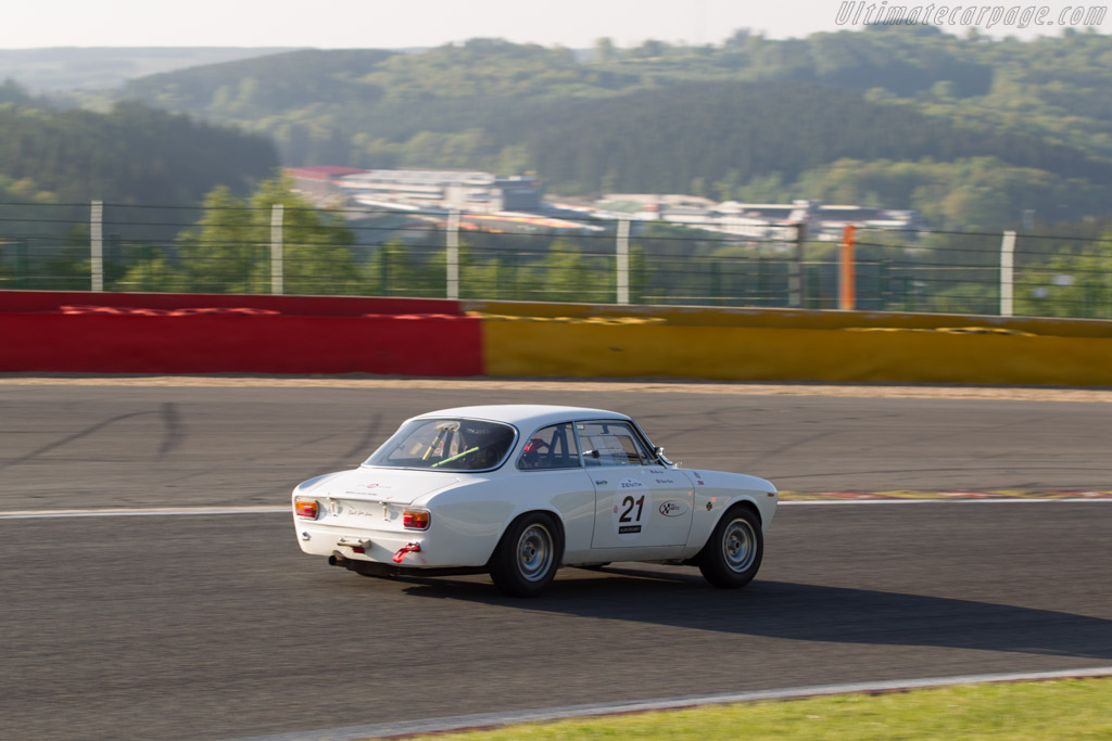 Alfa Romeo 1600 GTA - Chassis: AR613911 - Driver: Clive Joy / Killian Konig  - 2014 Spa Classic