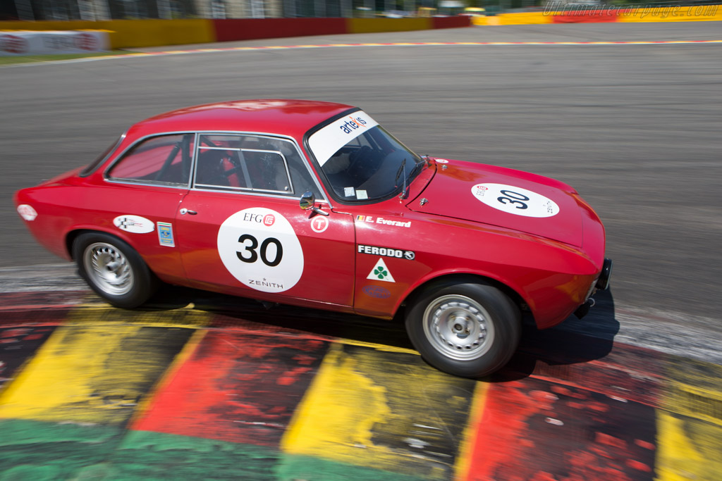 Alfa Romeo 1600 GTA - Chassis: AR613821 - Driver: Eric Everard  - 2014 Spa Classic