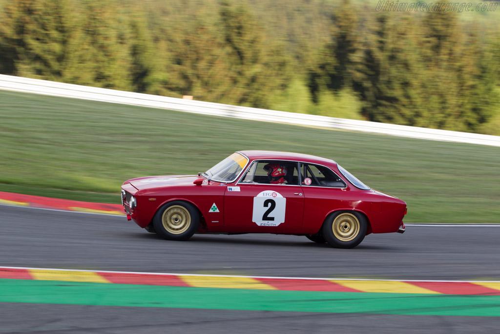 Alfa Romeo 1600 GTA - Chassis: AR613701 - Driver: Carlo Vogele / Peter Vogele  - 2014 Spa Classic