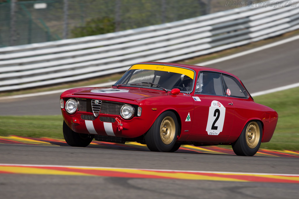 Alfa Romeo 1600 GTA - Chassis: AR613701 - Driver: Carlo Vogele / Peter Vogele  - 2014 Spa Classic