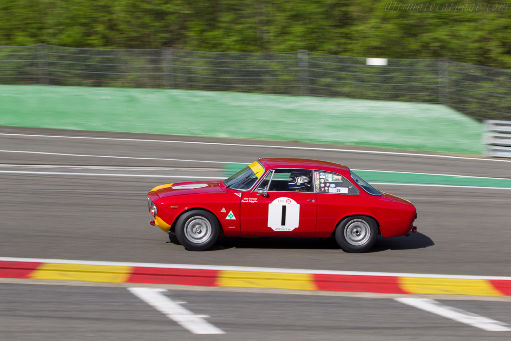 Alfa Romeo 1600 GTA - Chassis: AR613056 - Driver: Alex Furiani  - 2014 Spa Classic
