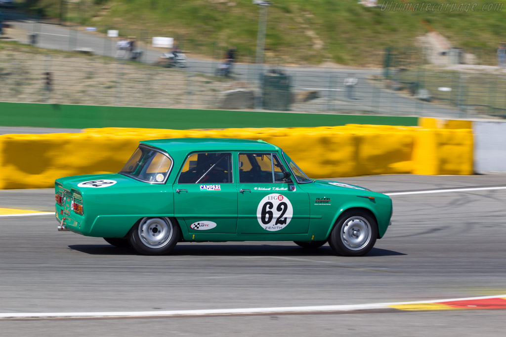 Alfa Romeo Giulia Ti Super - Chassis: AR595500 - Driver: Patrick Wilwert / Tom Mailleit  - 2014 Spa Classic