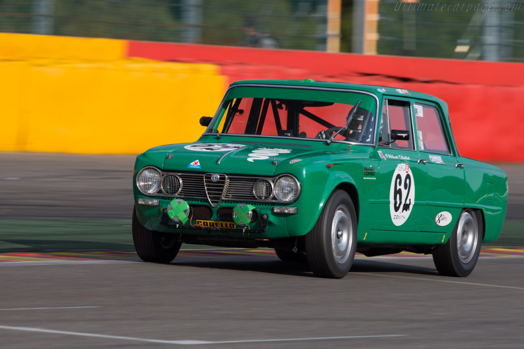 Alfa Romeo Giulia Ti Super - Chassis: AR595500 - Driver: Patrick Wilwert / Tom Mailleit  - 2014 Spa Classic