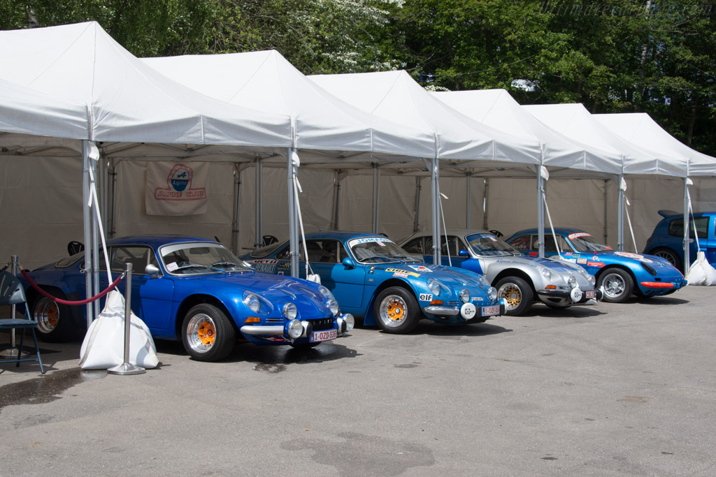Alpine club    - 2014 Spa Classic