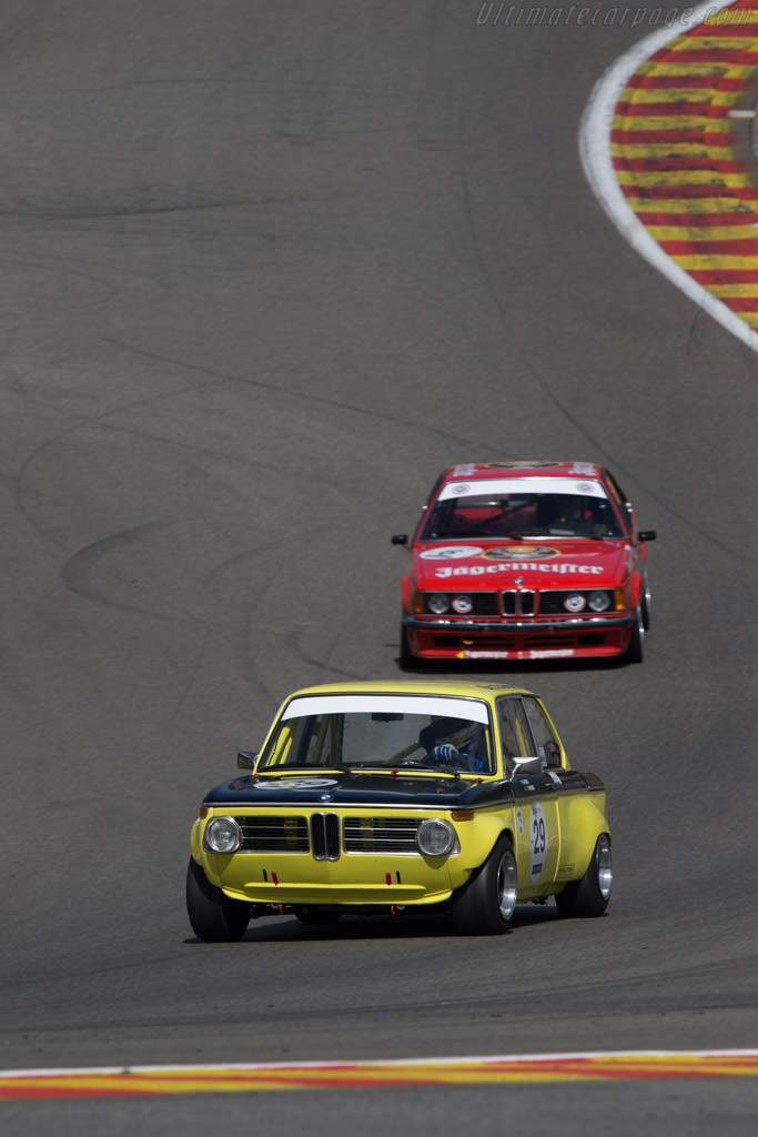 BMW 2002 TI  - Driver: Gaby von Oppenheim / Andreas Middendorf  - 2014 Spa Classic