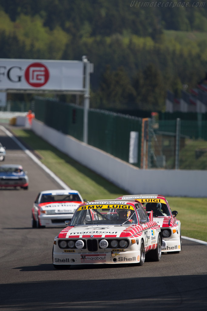 BMW 3.0 CSL - Chassis: A04-75 - Driver: Eric Mestdagh / Pierre Alain Thibaut  - 2014 Spa Classic