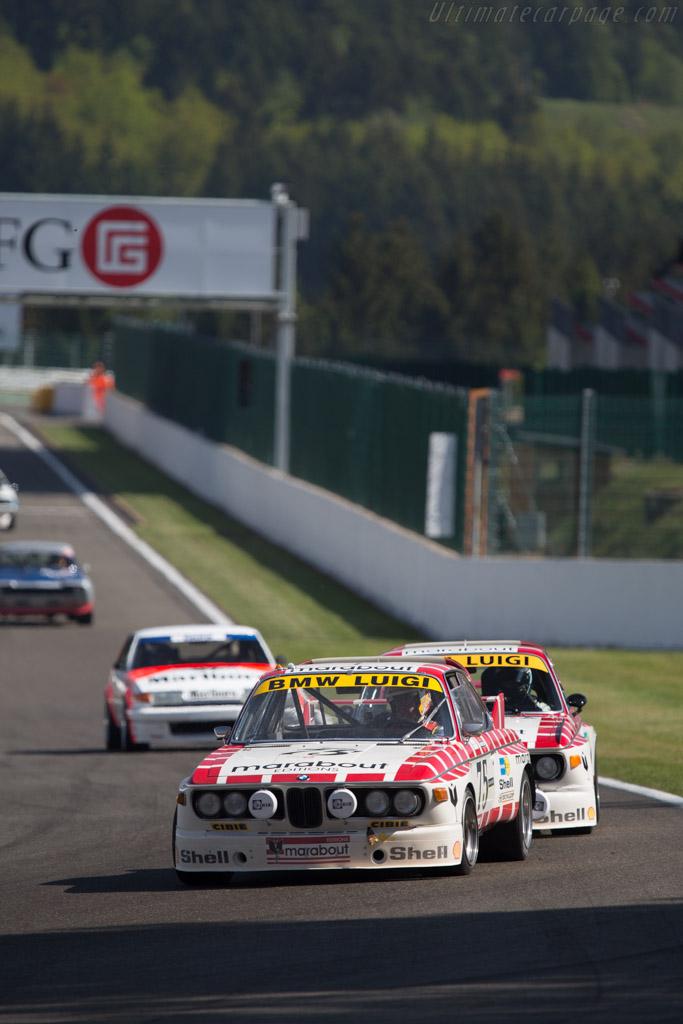BMW 3.0 CSL - Chassis: A04-75 - Driver: Eric Mestdagh / Pierre Alain Thibaut  - 2014 Spa Classic