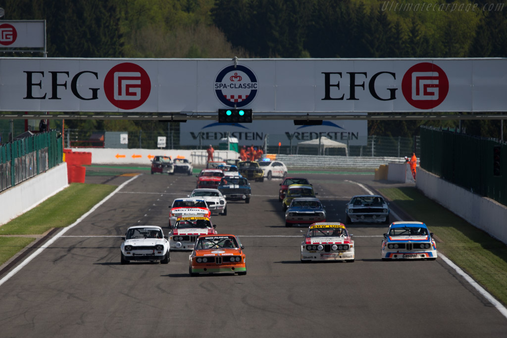 BMW 3.0 CSL - Chassis: 2211365 - Driver: Dominik Roschmann  - 2014 Spa Classic