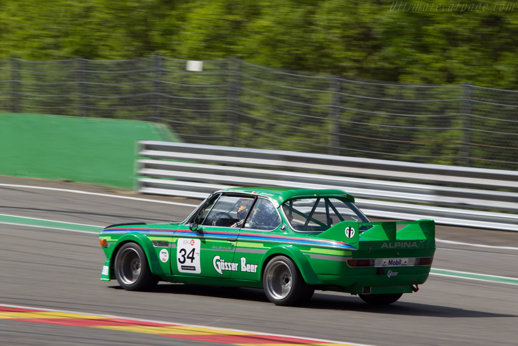 BMW 3.0 CSL - Chassis: 2240112 - Driver: Michel Mitharian  - 2014 Spa Classic