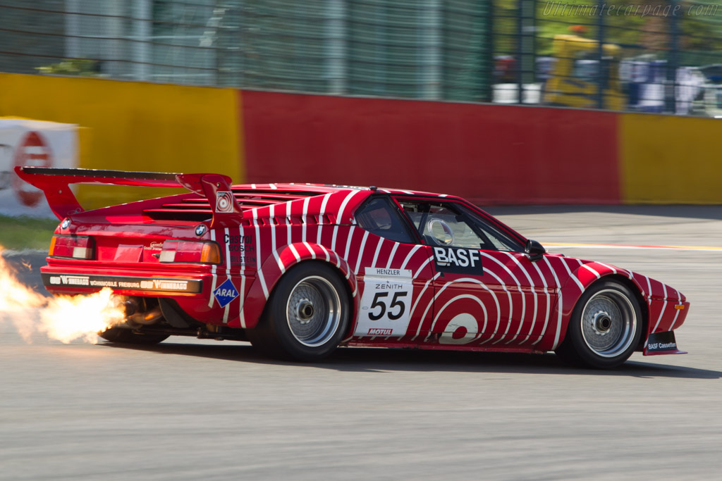 BMW M1 Group 4 - Chassis: 4301076 - Driver: Guenther Schindler  - 2014 Spa Classic