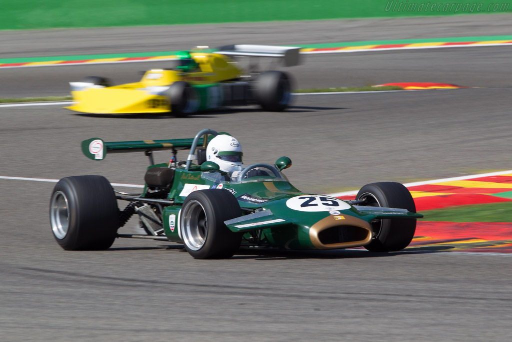 Brabham BT35 - Chassis: BT35-28 - Driver: Paul Tattershall  - 2014 Spa Classic