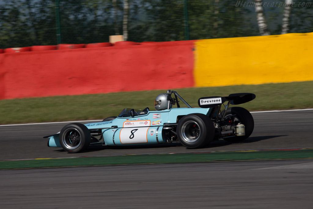 Brabham BT36 - Chassis: BT-36-9 - Driver: Klaus Bergs  - 2014 Spa Classic