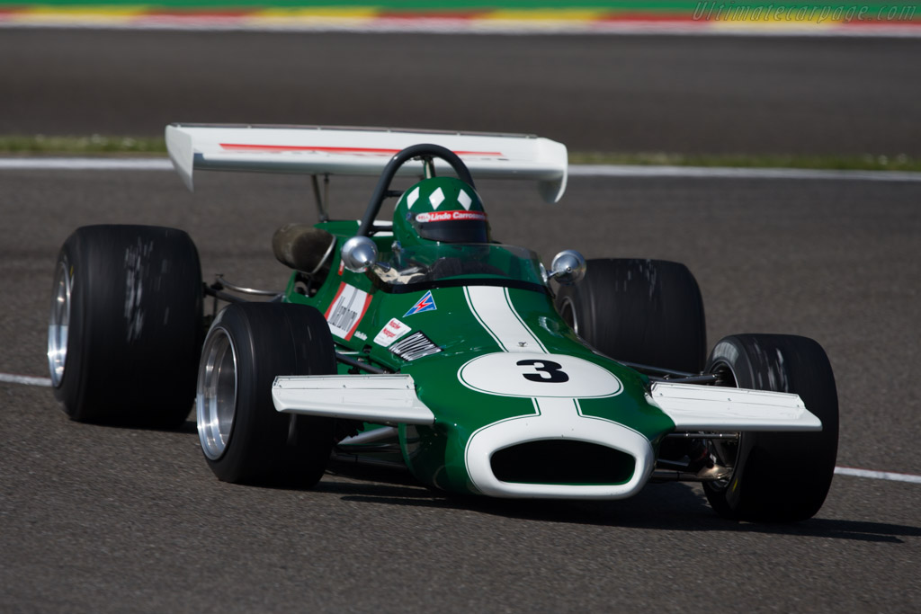 Brabham BT36 - Chassis: BT36-11 - Driver: Luciano Arnold  - 2014 Spa Classic