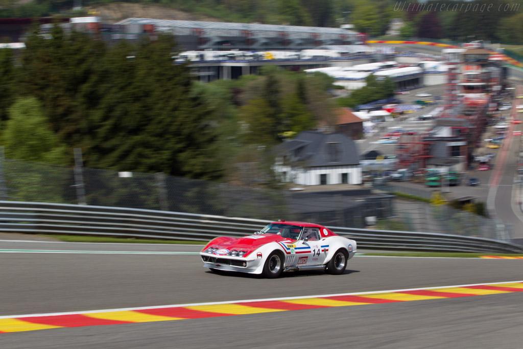 Chevrolet Corvette  - Driver: Marc Godfroy  - 2014 Spa Classic