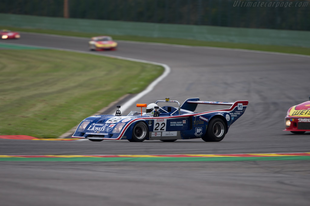 Chevron B31 - Chassis: B31-75-04 - Driver: Russell Busst  - 2014 Spa Classic