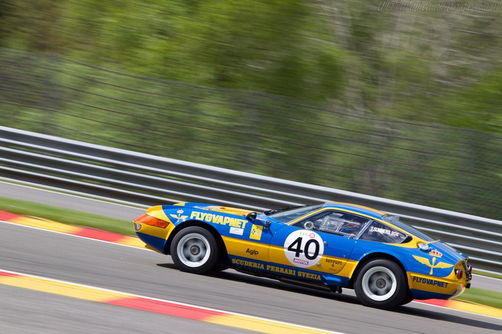 Ferrari 365 GTB/4 Daytona Group IV - Chassis: 13219 - Driver: Mark Donaldson  - 2014 Spa Classic