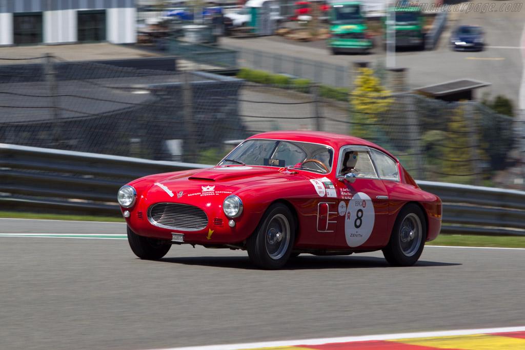 Fiat 8V Zagato - Chassis: 106*000088 - Driver: Erich Traber  - 2014 Spa Classic