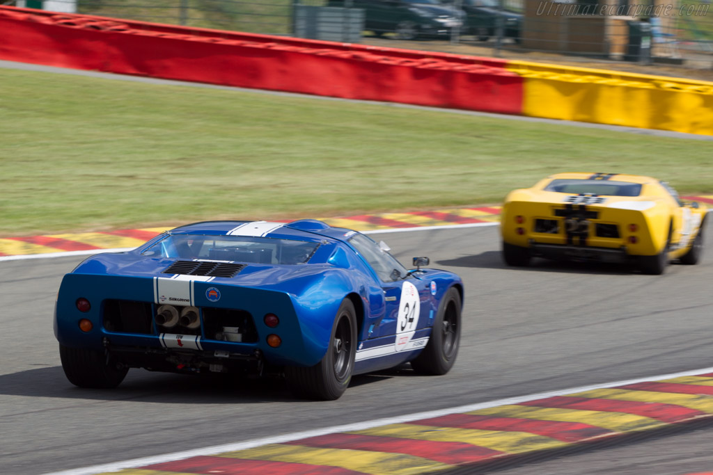 Ford GT40 - Chassis: GT40P/1062 - Driver: Hans Hugenholtz  - 2014 Spa Classic