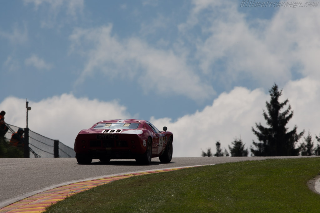 Ford GT40 - Chassis: GT40P/1042 - Driver: Xavier Galant  - 2014 Spa Classic