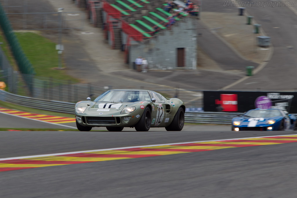 Ford GT40 - Chassis: GT40P/1078 - Driver: Claude Nahum  - 2014 Spa Classic