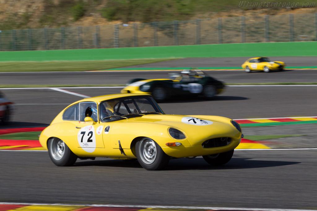 Jaguar E-Type - Chassis: 861039 - Driver: Bernard Thuner  - 2014 Spa Classic