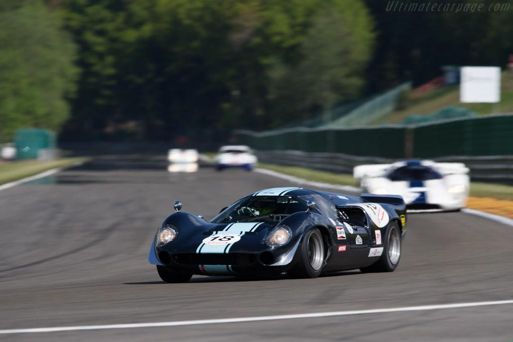 Lola T70 Mk3 Coupe - Chassis: SL73/106 - Driver: Thierry de Latre du Bosqeau / Eric Jamar  - 2014 Spa Classic