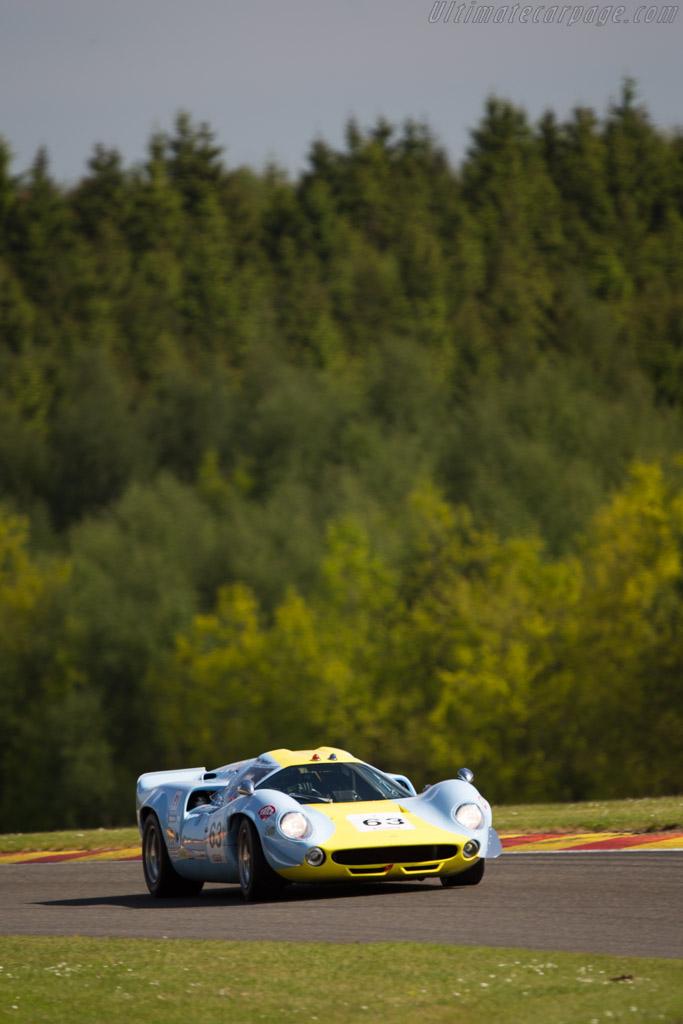 Lola T70 Mk3 Coupe - Chassis: SL73/132 - Driver: Toni Seiler  - 2014 Spa Classic