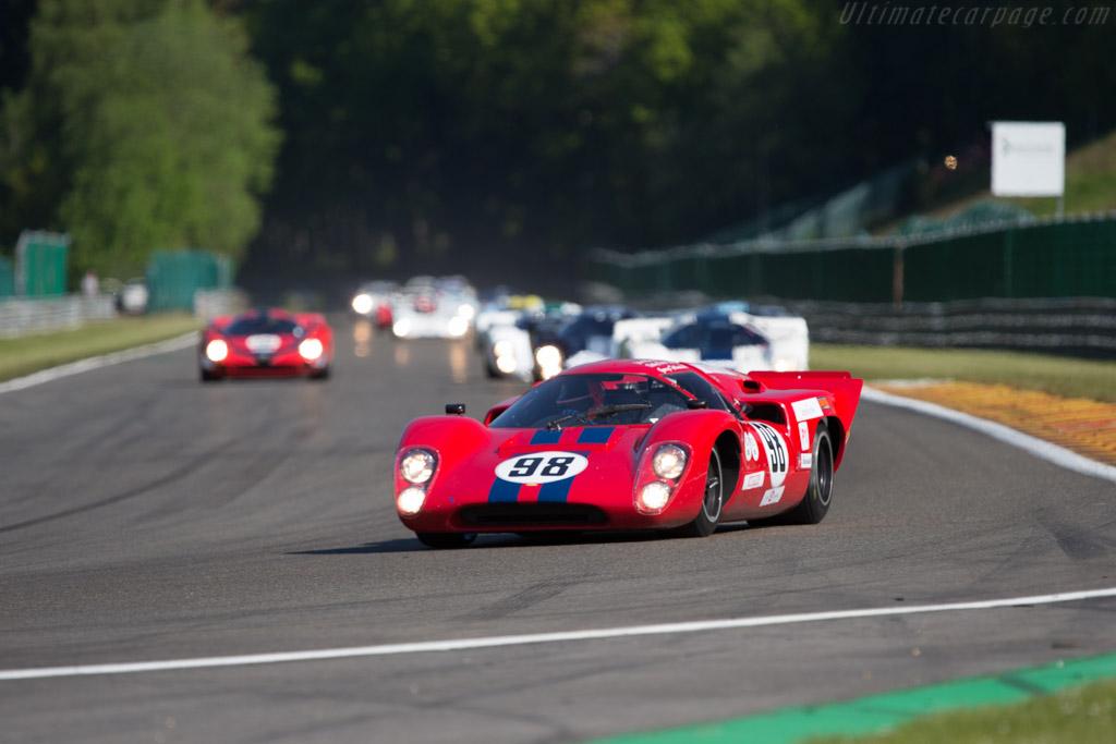 Lola T70 Mk3B  - Driver: Eric de Doncker  - 2014 Spa Classic