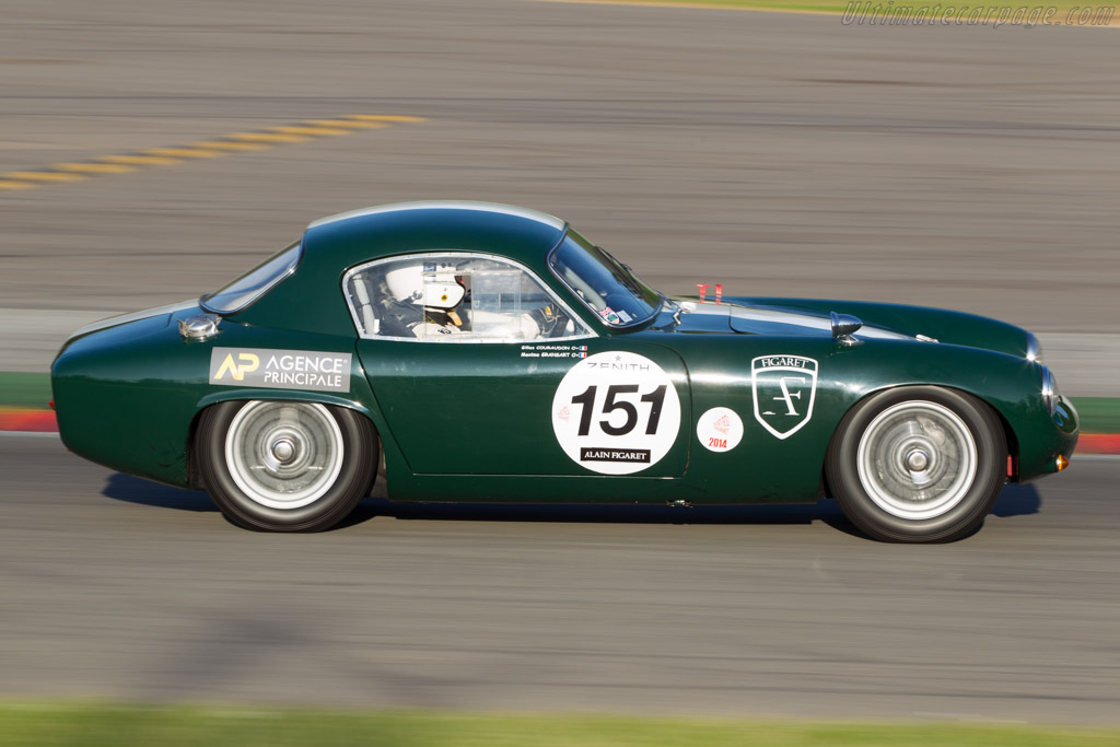Lotus Elite - Chassis: 1558 - Driver: Gilles Couraudon / Maxime Gransart  - 2014 Spa Classic