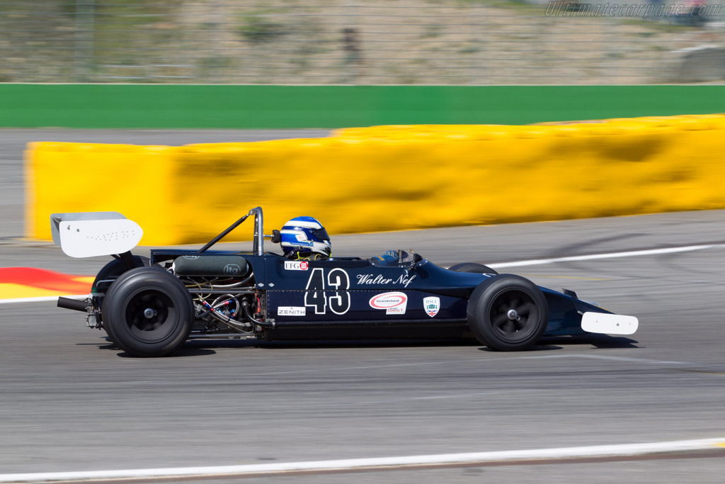 March 712M - Chassis: 712M-19 - Driver: Walter Nef  - 2014 Spa Classic