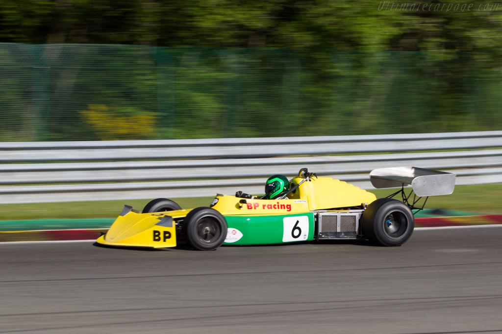 March 742 - Chassis: 742-24 - Driver: Martin Stretton  - 2014 Spa Classic