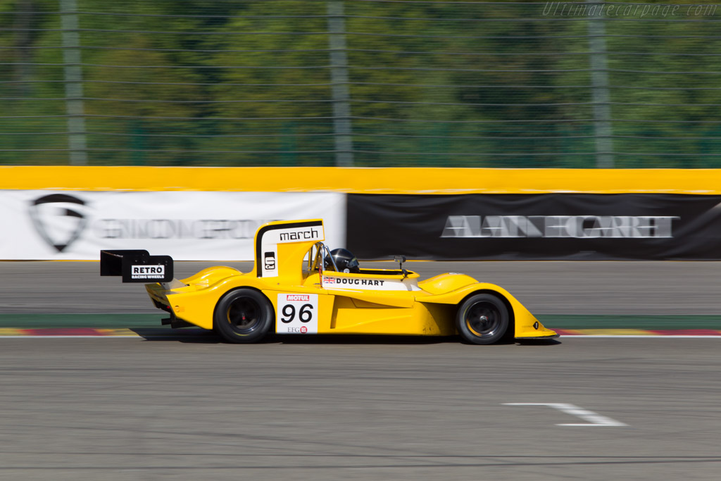 March 75S Cosworth - Chassis: 75S/5 - Driver: Doug Hart  - 2014 Spa Classic