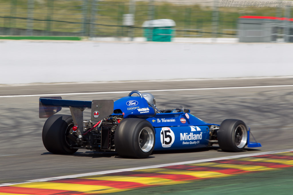 March 76B - Chassis: 77B-23 - Driver: Bo Warmenius  - 2014 Spa Classic