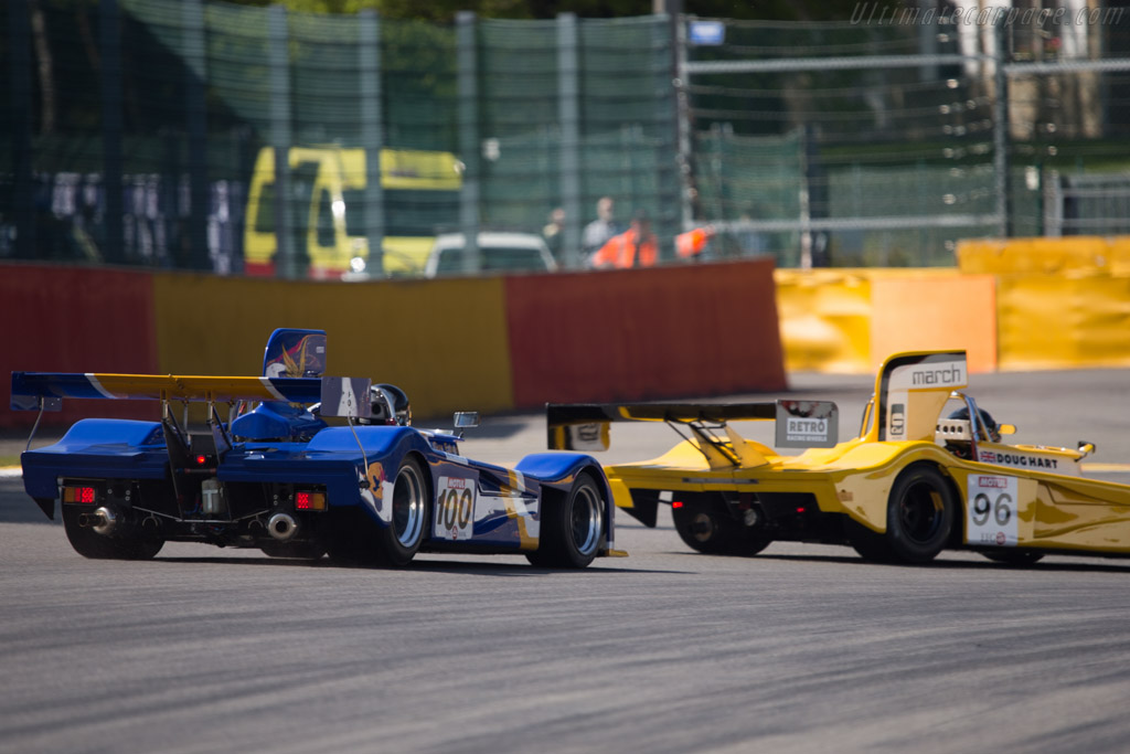 March 76S Cosworth - Chassis: 76S/3 - Driver: Paul Knapfield  - 2014 Spa Classic