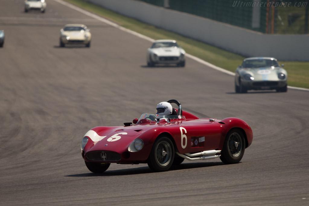 Maserati 300S - Chassis: 3059 - Driver: Carlo Vogele  - 2014 Spa Classic