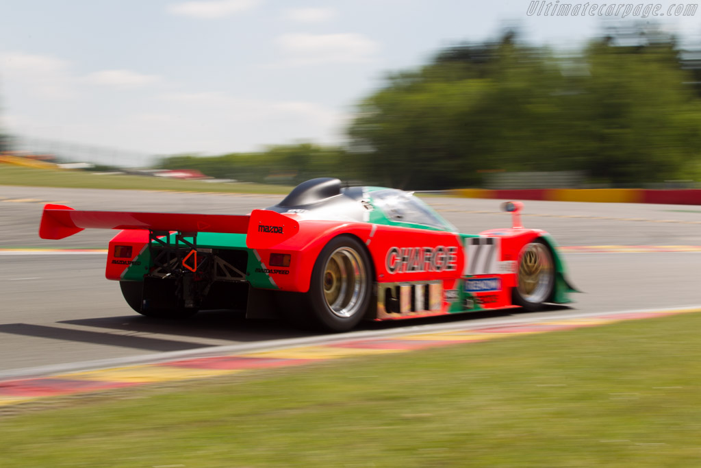 Mazda 767B - Chassis: 767 - 003 - Driver: Moritz Werner  - 2014 Spa Classic