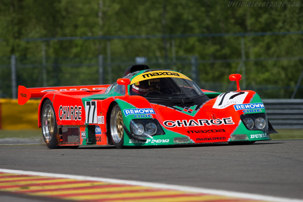 Mazda 767B - Chassis: 767 - 003 - Driver: Max Werner  - 2014 Spa Classic