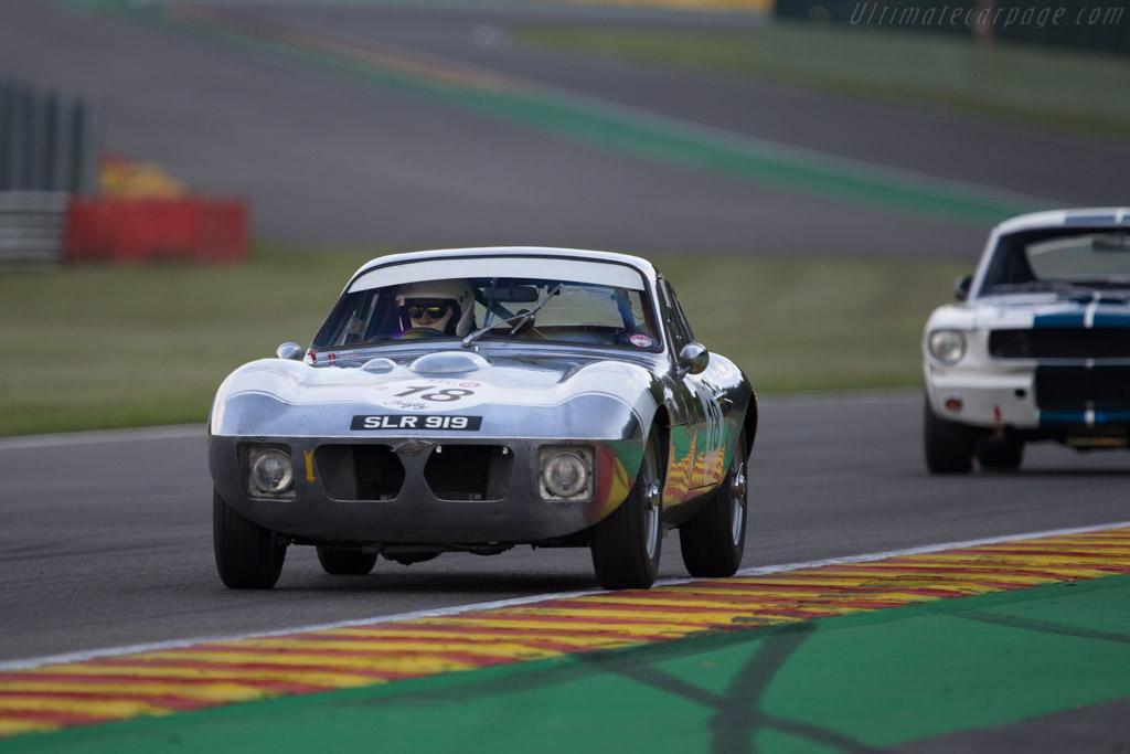 Morgan +4 SLR - Chassis: SLR4 - Driver: John Emberson / Bill Wykeham  - 2014 Spa Classic