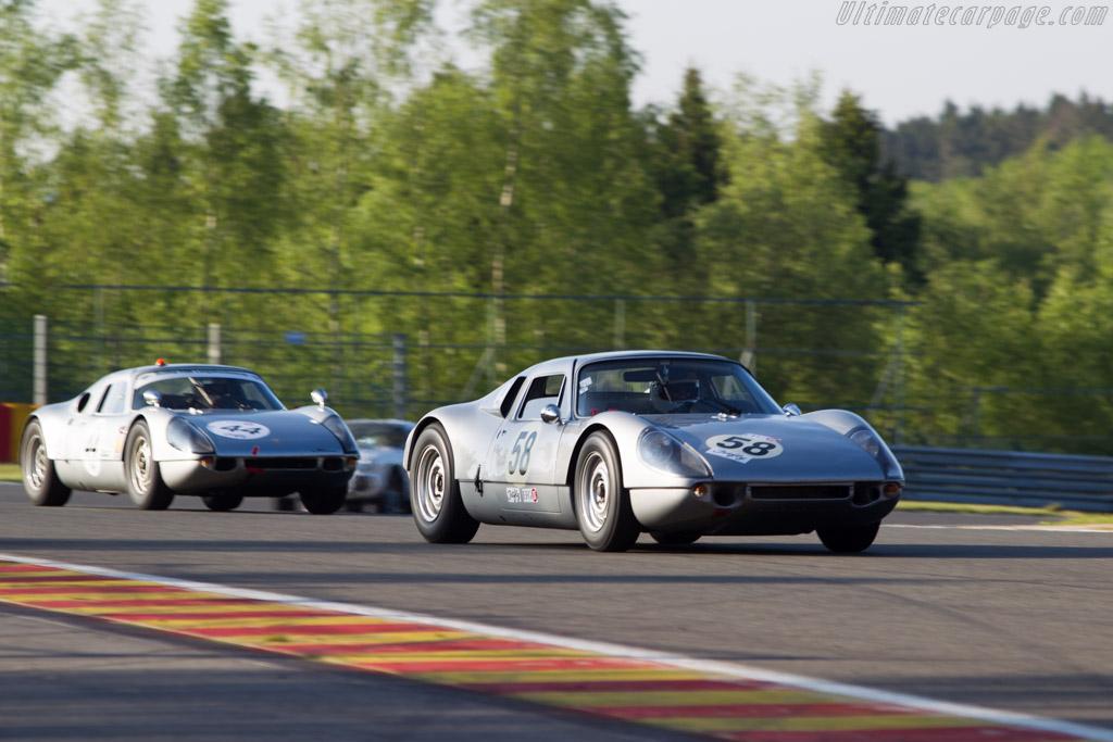 Porsche 904/6 - Chassis: 906-002 - Driver: Carlo Vogele  - 2014 Spa Classic