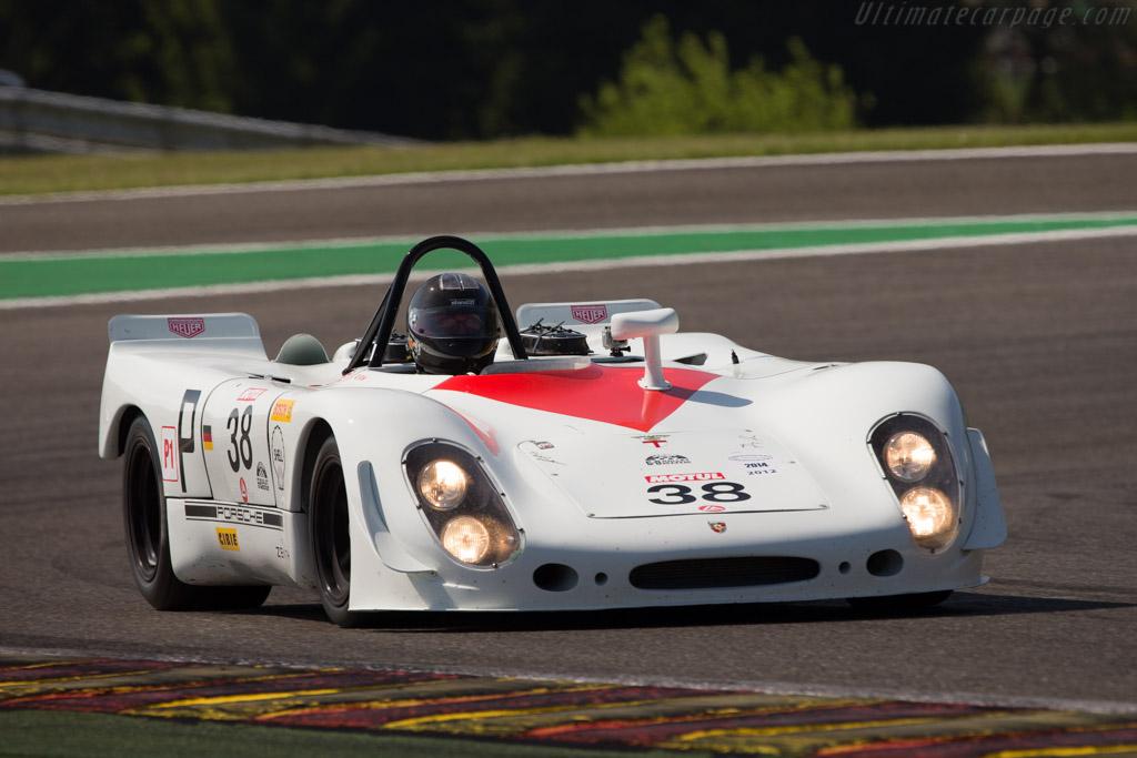 Porsche 908 2 Spyder Chassis 908 02 018 Driver Robert Fink 2014 Spa Classic
