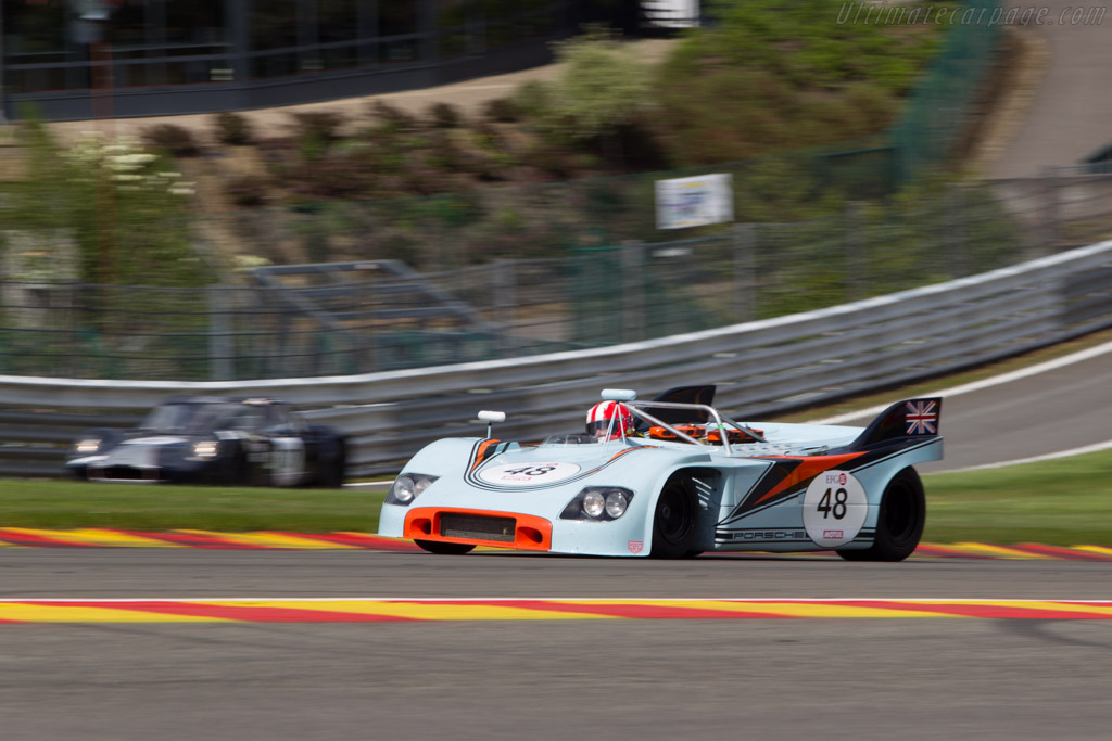 Porsche 908/3 - Chassis: 908/03-001 - Driver: Peter Vogele  - 2014 Spa Classic