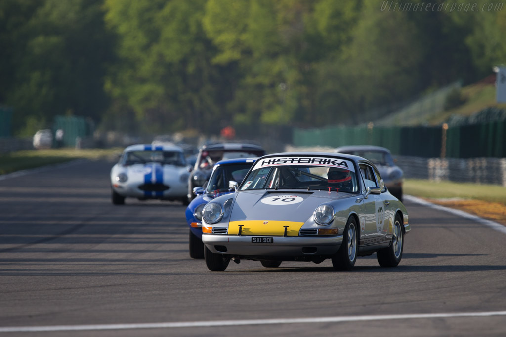 Porsche 911 - Chassis: 300241 - Driver: Pascal Pandelaar  - 2014 Spa Classic