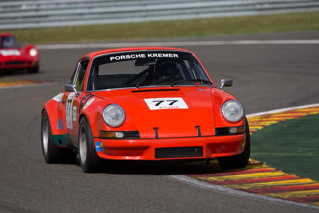 Porsche 911 Carrera RSR 2.8  - Driver: Heiko Ostmann / Horst Schneider  - 2014 Spa Classic