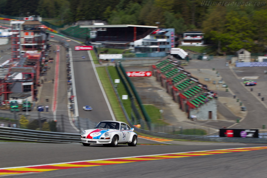 Porsche 911 Carrera RSR 2.8 - Chassis: 911 360 0727 - Driver: Jean-Philippe Grand  - 2014 Spa Classic